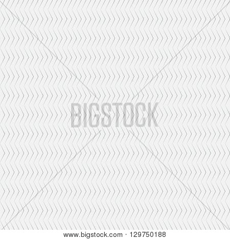 Seamless pattern. Simple linear texture in the form of a zigzag waves. Repeating geometric shapes thin lines zigzags. Monochrome. Backdrop. Web. Vector element of graphic design