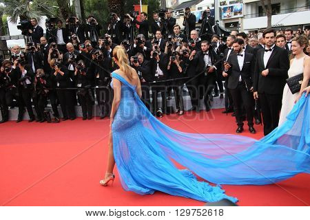 Blake Lively attends 'The BFG' premier during the 69th Annual Cannes Film Festival on May 14, 2016 in Cannes.