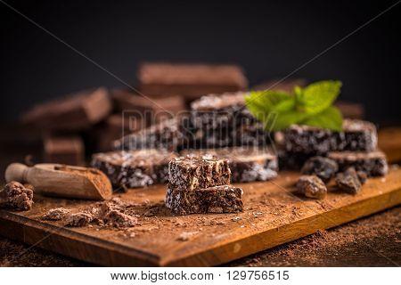 Brown Chocolate Cake