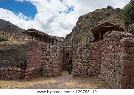 Exploring Inca Trails And Ruins Of Pisac, Peru
