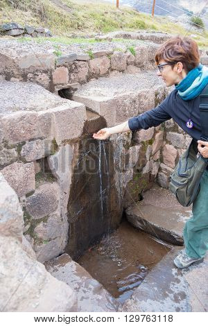 Exploring Inca Trails And Ruins Of Pisac, Peru