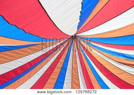 Colorful top of ten as abstract background