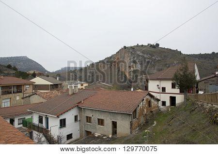 Views Ucero in Soria, Castilla león, spain.