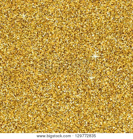 Gold glitter texture not seamless for your design