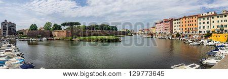 Fortezza Nuova in Livorno in Tuscany Italy