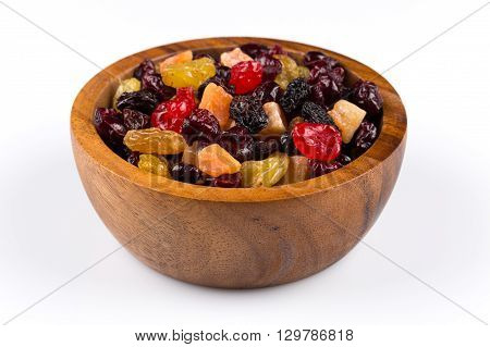 Mix Variety Of Dried Fruit