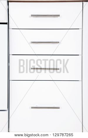 The White Cupboard Doors, On Close Up