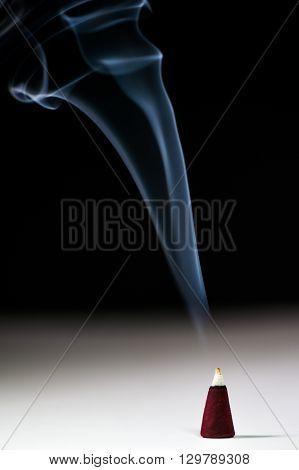 Incense Stick With Smoke