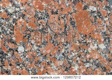 Red spoted marble background with natural pattern. Natural marble stone wall texture.
