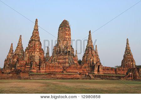 Wat Chaiwatthanaram in Ayuthaya province, Thailand