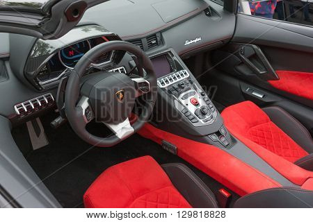 Lamborghini Interior On Detail