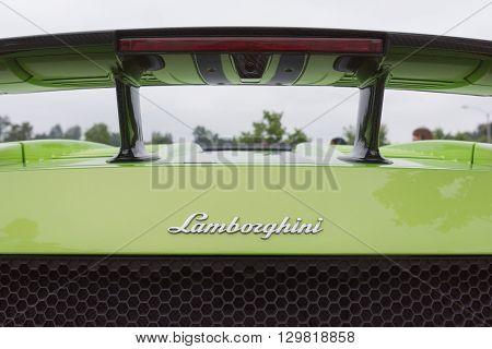 Lamborghini Gallardo Logo Rear