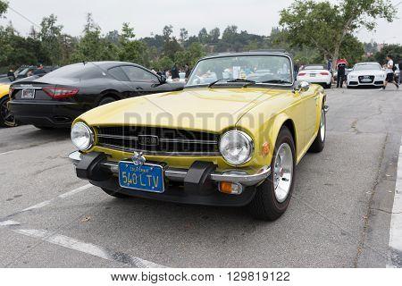 Triumph Tr6 Convertible