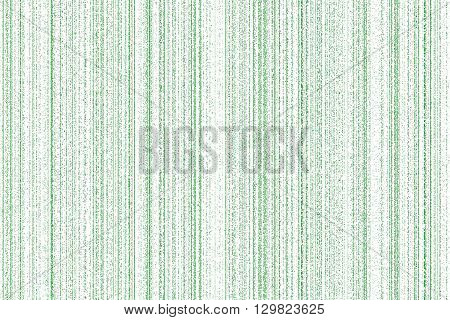 light green digital codes background in matrix style on white background.