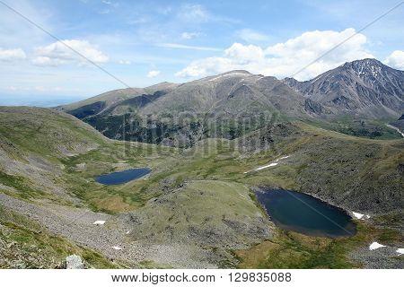 Altai region Russia Russian Federation mountain landscapes