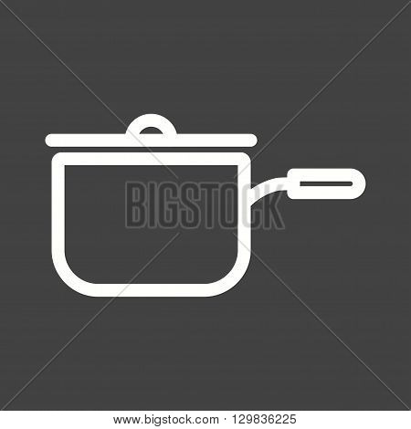 Sauce, pan, tomato icon vector image. Can also be used for kitchen. Suitable for use on web apps, mobile apps and print media.