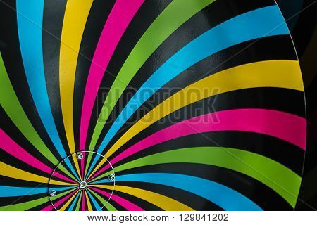 Classical Hypnosis Rotating Spiral Colorful Cycling Vortex Illusion
