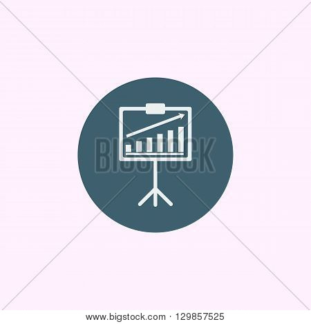 Project Stats Icon In Vector Format. Premium Quality Project Stats Symbol. Web Graphic Project Stats