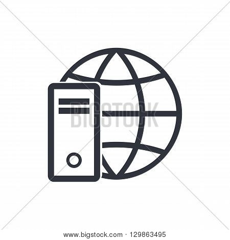 Hardware Internet Icon In Vector Format. Premium Quality Hardware Internet Symbol. Web Graphic Hardw
