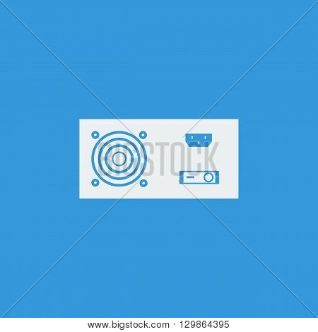 Power Supply Icon In Vector Format. Premium Quality Power Supply Symbol. Web Graphic Power Supply Si