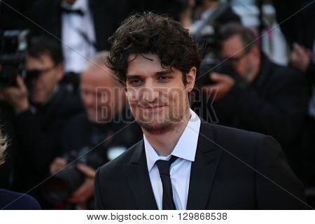 Louis Garrel   attends the screening of 'From The Land Of The Moon (Mal De Pierres)' at the annual 69th Cannes Film Festival at Palais des Festivals on May 15, 2016 in Cannes, France.