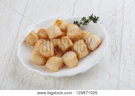 Roasted Scallops