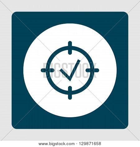 Project Goal Icon In Vector Format. Premium Quality Project Goal Symbol. Web Graphic Project Goal Si