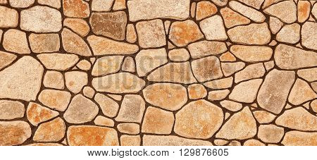 a brown stone a nice  wall background