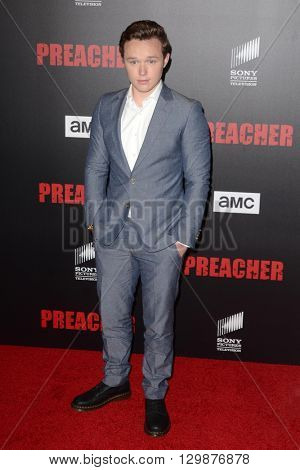 LOS ANGELES - MAY 14:  Ian Colletti at the Preacher Premiere Screening at the Regal 14 Theaters on May 14, 2016 in Los Angeles, CA