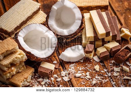 Wafer And Chocolate
