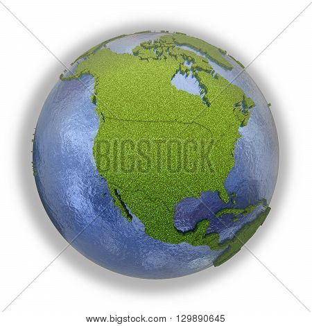 North America On Planet Earth