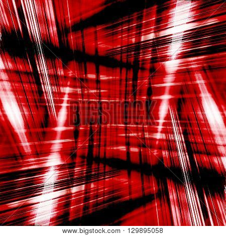 Dynamic black and red light streaks background