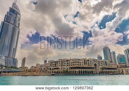 Souk Al Bahar And The Address Hotel, Dubai