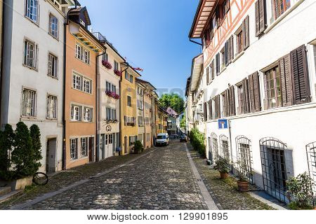 Exterior Views Of The Old Town Part Of Baden