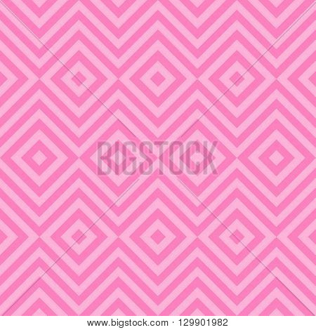 Ethnic tribal zig zag and rhombus seamless pattern. illustration for beauty fashion design. Pink color. Vintage stripe style.