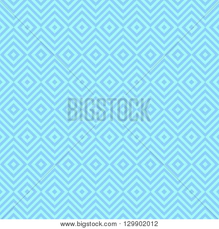 Ethnic tribal zig zag and rhombus seamless pattern. illustration for beauty fashion design. Blue white colors. Vintage stripe style.
