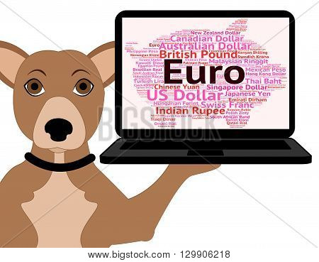 Euro Currency Means Forex Trading And Currencies