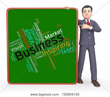 Business Words Means Importing Selling And Export