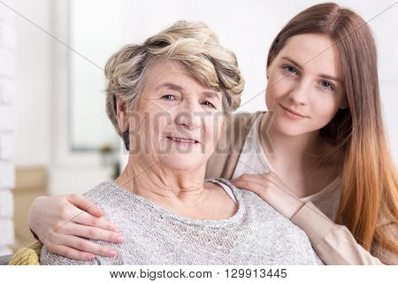 Receiving Loving Support In Elderly Age