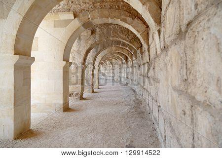 Aspendos Ancient City View
