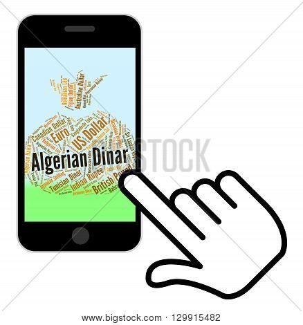 Algerian Dinar Means Foreign Currency And Currencies