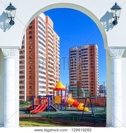 Playground Open Door