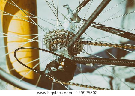 Bicycle Gears And Chain
