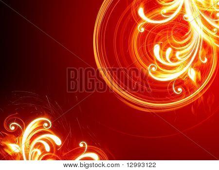 Flores de fogo