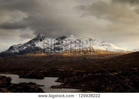 the Scottish Highlands Isle of Skye Scotland UK