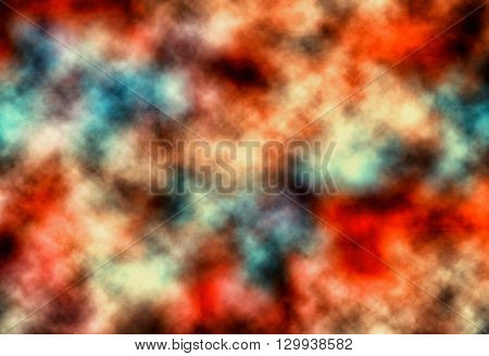 Many Color Abstract Background