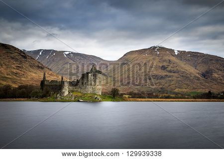 Kilchurn Castle 15th century castle Argyll and Bute Scotland