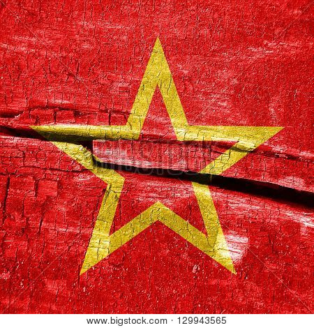 Red army flag