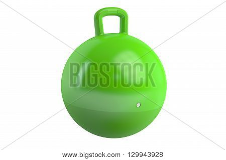 Hopper Ball 3D rendering isolated on white background