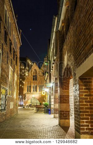 Boettcherstreet By Night
